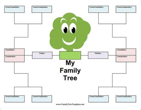Free Editable Family Tree Template Editable Family Tree Template Beepmunk