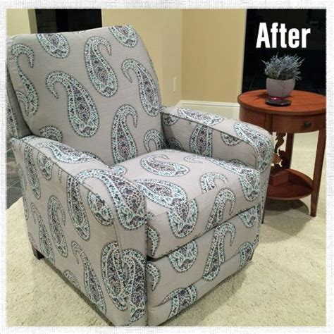 How To Reupholster A Reclining Sofa by How To Reupholster A Recliner Projects To Try