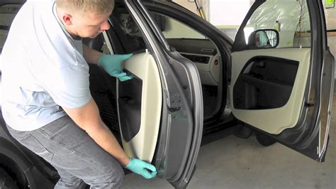 volvo xc  p  door panel removal youtube