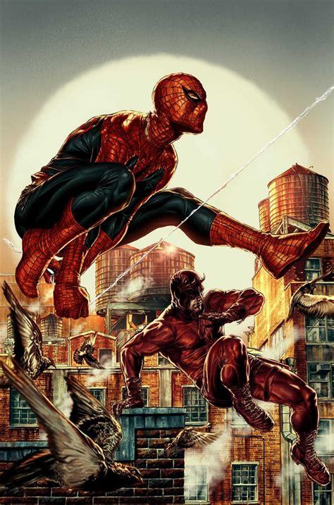spider man daredevil  wolverine deadpool battles