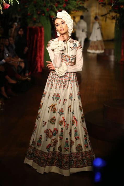 reddish   white rohit bal bridal dresses designers