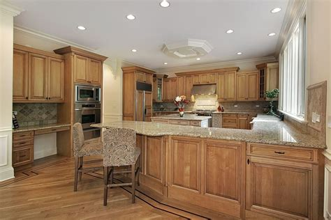 black kitchen island with granite top 43 quot and spacious quot light wood custom kitchen designs