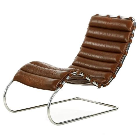 mies der rohe for knoll mr chaise lounge in original leather for sale at 1stdibs