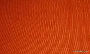 HD802 Tangerine Modern Heavy Textured Barkcloth Style
