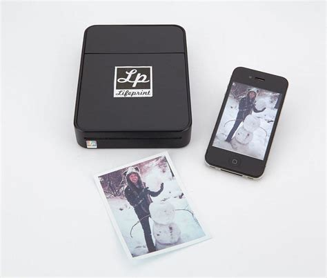 print photos from your phone lifeprint a wireless connected printer for