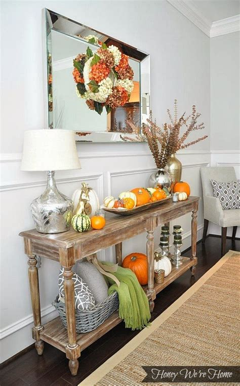 Rustic Glam Fall Mantle  Honey We're Home