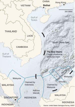 indonesian presidents visit  natuna islands sends