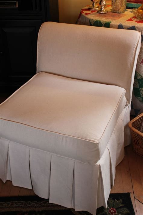 slipper chair cover opulent cottage how to slipcover a slipper chair part