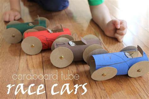 serving pink lemonade cardboard tube race cars great