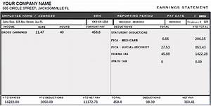 6 fake paystubs timeline template for Fake check stubs template