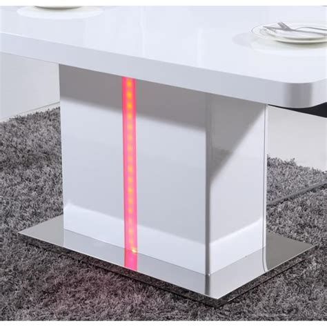 table a manger laque blanc table a manger blanche laqu 233 chaios