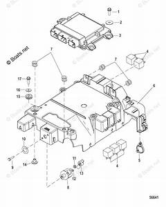 Mercury Mercruiser Inboard Parts By Size  U0026 Serial Gas Oem Parts Diagram For Electrical