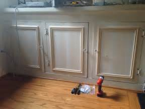 Updating Old Kitchen Cabinets by Adding Trim The Lion S Den