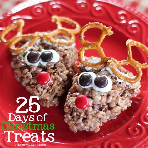 christmas treats holiday recipes 25 days of christmas treats mommysavers