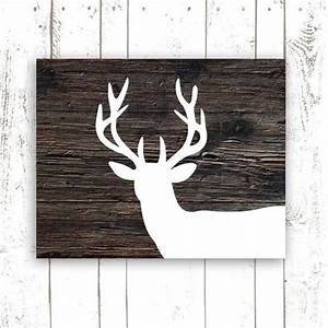 93 best images about downtown bend bungalow on pinterest With best brand of paint for kitchen cabinets with reindeer head wall art