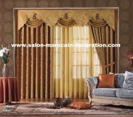 Décoration Rideaux Salon Moderne by D 233 Coration Interieur Salon Rideaux