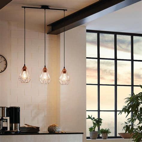 lampara de estilo vintage de  luces eglo cocinas