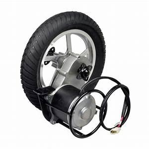 24 Volt 450 Watt Direct Drive Electric Motor  U0026 Rear Wheel