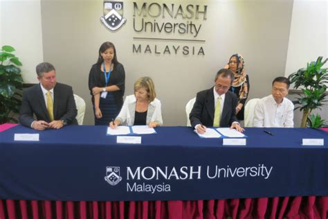 fiatec bioactive sdn bhd signs moa with monash malaysia monash university malaysia