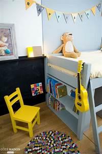 Chambre Garcon 5 Ans : chambre jaune de gar on 5 ans delphine guyart c t ~ Melissatoandfro.com Idées de Décoration