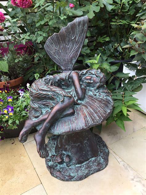 buy garden sculptures garden fairy sculptures garden fairies to buy candle and blue
