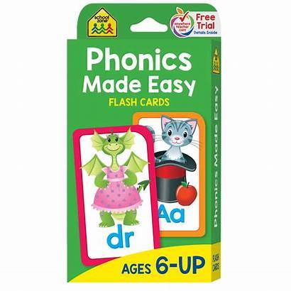 Phonics Flash Cards Easy Schoolzone Wholesale Case