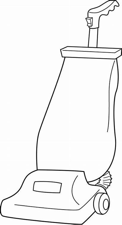 Vacuum Cleaner Clip Clipart Line Vaccuum Vacuuming