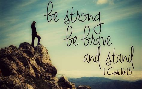 Strong Takes A Stand in 2014 be strong be brave and stand 2014 and beyond