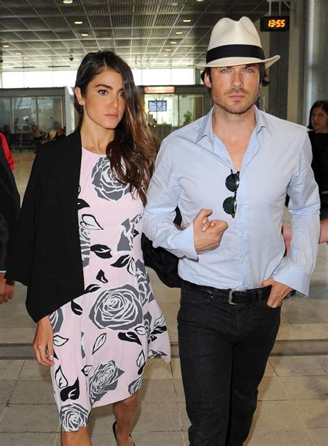 reed ian somerhalder ian somerhalder at airport with reed may 22
