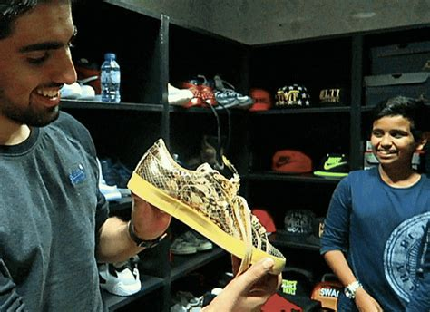 dubai kid shows   million sneaker collection