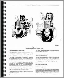 Ford 1110 Tractor Service Manual
