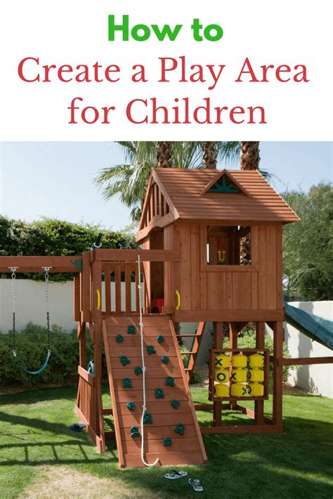 A Home With A Play Area For by How To Create A Play Area For Children In Your Yard Tots