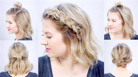 minute super easy hairstyles milabu youtube