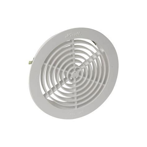 grille d a 233 ration pour pvc tuyau gaine 248 100 avec moustiquaire blanche nicoll ncl1gatm100
