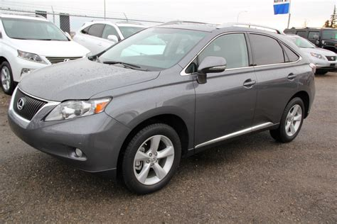 lexus gray 2012 lexus rx350 awd ultra premium park assist