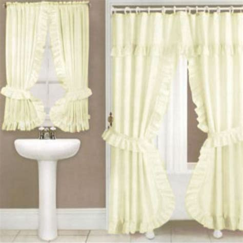 curtains with valance and tiebacks home design ideas