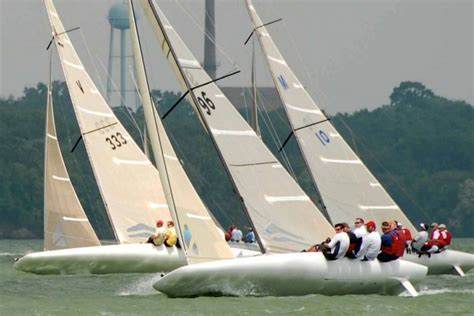 Scow Sailboat by A Scow National Class A Scow Association