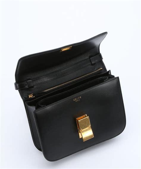 e0d90fb95038b 583 x 700 www.lyst.com. Lyst - Céline Black Leather ...