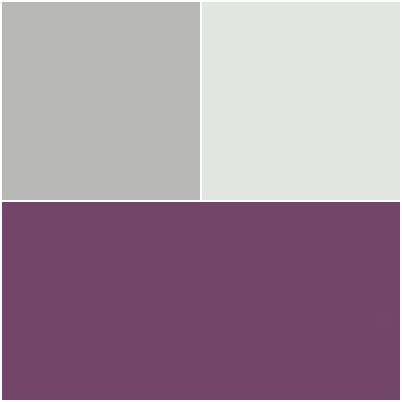 chambre gris et aubergine chambre parentale associations de couleurs aubergine gris