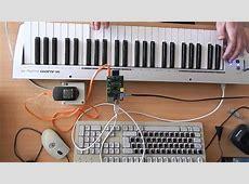 Raspberry Pi as a simple MIDI Synth YouTube