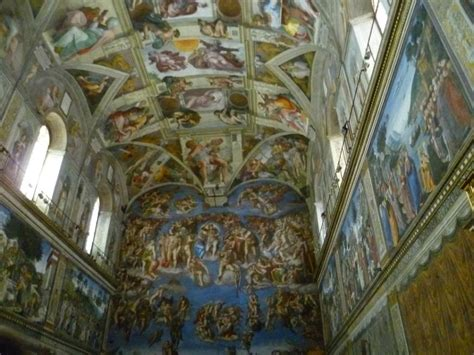 plafond chapelle sixtine photo de voyage 224 rome passions et grains de folie