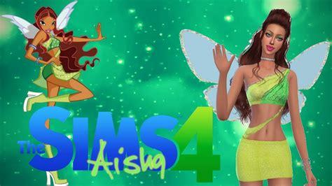 Winx Club Aisha The Sims 4 Cas + Download