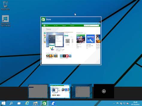 bureau virtuel windows windows 10 comment faire pour utiliser plusieurs bureaux