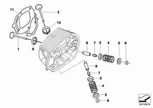2011 Bmw R1200r Valve Guide Exhaust