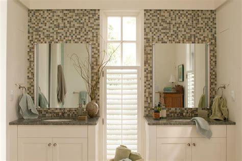 integrate  accent tile  calming bathroom retreats