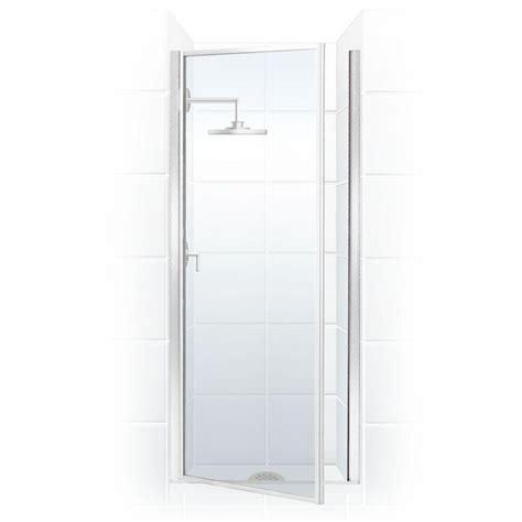 Home Depot Shower Door by Coastal Shower Doors Legend Series 34 In X 68 In Framed