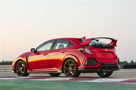 Civic Si Type R by Honda Civic Type R Sees Small Price Hike For 2018 Model Year