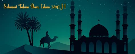 desain gambar ucapan selamat   islam  muharam