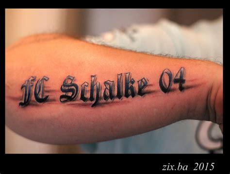 fc schalke tattoos tattoos schalke schalke  und