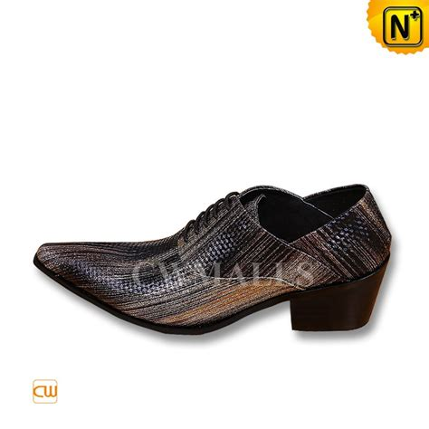 comfortable dress shoes leather printed oxford dress shoes cw752243